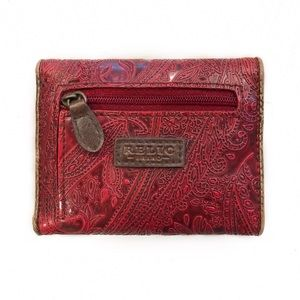 [Relic] Vegan Leather Paisley Embossed Wallet